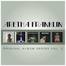 ARETHA FRANKLIN - 5CD ORIGINAL ALBUM SERIES VOL. 2 (NEW/SEALED) Soul '69 Arrives