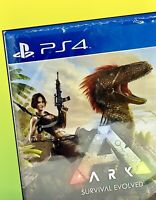 Ark Survival Evolved Playstation 4 PS4 PS5 Dinosaurs Studio Wildcard,NEW SEALED