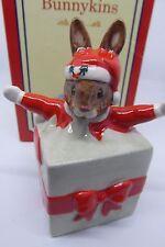 Royal Doulton Bunnykins Christmas Surprise Boxed DB146