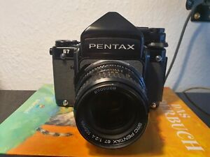 Pentax 67 SMC Pentax 105mm 1:2,4 6x7 Mittelformat Prisma TTL