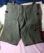 Ragwear Mens Size 38 Industrial Strength Cargo Shorts Khakis