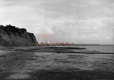 PHOTO  GLAMORGAN VIEW OF CARDIFF DOCKS AND STEEL WORKS FROM PENARTH. COAL TIPS P