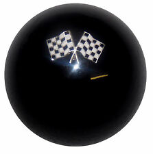 Checkered Flags shift knob M8x1.25 (Fits: 2005 3)