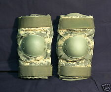 US Military Army ACU Camo TACTICAL ELBOW PADS Size Large - MINT - Bijans