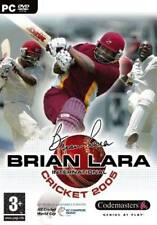 Brian Lara International Cricket 2005 (PC DVD Sports Game) New & Factory Sealed