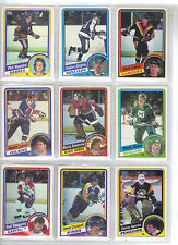 Lot of 20 Different 84-85 OPC O-Pee-Chee Cards **U-Pick** Complete Your Set