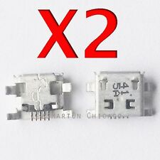 2X ZTE Warp Elite N9518 USB Charging Port Dock Connector Replacement Part