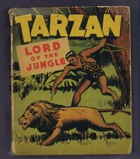 Tarzan Lord of the Jungle ORIGINAL Vintage 1946 Whitman Big Little Book 1407