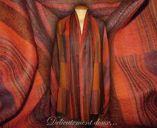 Écharpes et châles multicolore pour femme en 100% laine   eBay 76361473a66
