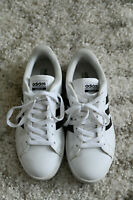 Adidas Womens Classic White Lace Up Tennis Shoes Size 6