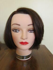 MARIANNA MANNEQUIN HEAD MS.KIM #14101 Brunette Post Hole in Neck