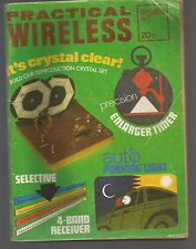 PRACTICAL WIRELESS - SEPTEMBER 1972 - MAGAZINE - complete
