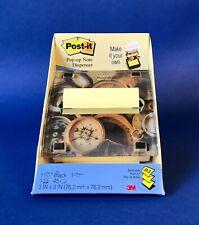 New Post It Notes Pop Up Lenticular Design Note Dispenser Office Desk Supplies