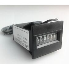 12V 6 digit Mechanical coin meter counter for arcade operated Vending machine TW
