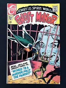 GHOST MANOR #2 (1ST SERIES) CHARLTON COMICS 1968 VF