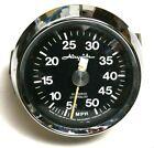 Airguide Sea Speed Contralog Marine Speedometer--50mph
