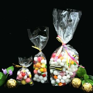 CLEAR Cellophane Bags Food Safe Sweet Treats Biscuit Toy Party Gift