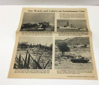 Old Newspaper Clipping on Cuba Guantanamo Bay Cold War Kennedy Russian Soldiers