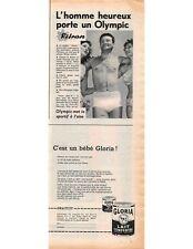 Publicité Advertising 1959 - Olympic Lingerie pour Homme  -  (Advertising paper)