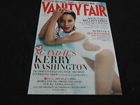 Vanity Fair Magazine - Scandal's Kerry Washington - August 2013