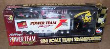 1998 Power Team Racing Transporter Joe Bessey W /Stock Car, IRL Car, Key Chain