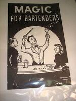 Magic For Bar Bartenders Senor Mardo Manuscript Bar Tricks