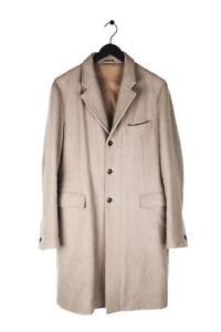 Original Miu By Prada Men Warm Long Heavy Trench Coat size 50 (L)