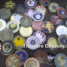 Featured Challenge Coin Random Military President NYPD Firefighter ETC Theme
