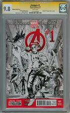 AVENGERS #1 DEADPOOL SKETCH VARIANT CGC 9.8 SIGNATURE SERIES SIGNED STAN LEE