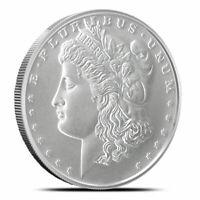 Morgan Dollar 1 oz Silver Round