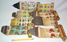 8 RARE MOVIE JECKTOR FILMS FOR PHONOGRAPH GRAMOPHONE TOY PROJECTOR ZEPPELIN