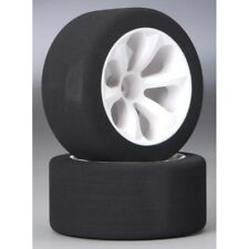 Jaco JAC2030 Jaco 1/10 Hex Mounted Front Wheels with Purple Compound Foam Tir