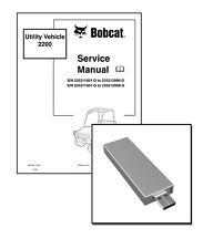 New Bobcat 2200 Workshop Repair Service Manual USB stick + Download