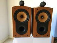 Bowers Wilkins B&W Nautilus 805 Vintage 2002 Speakers Hi End 150 WRMS Like New