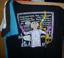 THREADLESS COMICS-ON TEES Vol. 4 Monkey Around (Chis Roberson) Set of 4 L Shirts