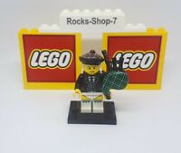 Lego Series 7 Bagpiper Minifigure Collectable Series 7 Bagpipes Scottish A18A