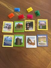 The Game Of Life Adventures  Replacement  Houses And Stands Pieces Y497