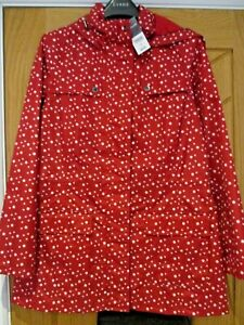 Ladies  coat 100% water proof  Bonmarche  size 12  24 Brand new