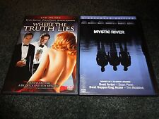 WHERE THE TRUTH LIES & MYSTIC RIVER-2 dvds-KEVIN BACON,COLIN FIRTH, SEAN PENN