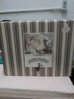 24 PCS JOHNSON BROS ENGLAND IRONSTONE DINNER SET SERVES 4 OCTAGON HERITAGE WHITE