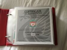 LIVERPOOL FC VICTORY CARDS - Official LFC Victory Card Collection 2005/6 Season