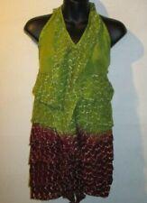 T-shirt, maglie e camicie da donna verde in cotone taglia S