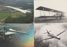 COMMERCIAL AIRCRAFT AVIATION 76 Postcards pre-1980 with Lot AIR FRANCE
