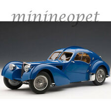 AUTOart 70943 1938 BUGATTI 57SC 1/18 ATLANTIC BLUE with METAL WIRE-SPOKE WHEELS