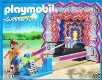 Playmobil 5547 Dosen-Schießbude Summer Fun Jahrmarkt Rummel Treffer Spaß Neu OvP