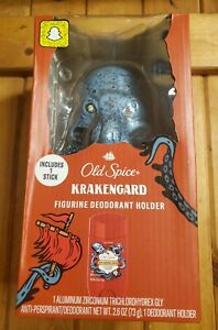 Old Spice Krakengard Figurine Deodorant Holder Collectible - SHIPS FREE NEW!
