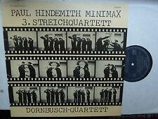 LP: DORNBUSCH quartetto: Paul Hindemith: MINIMAX/3. quartetto 1976 da camera
