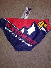 Water Polo Competition Swim Suit, New, Delfina, WinterFest2018 Tournament Design