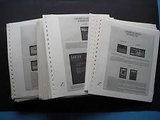 Albenblätter Lindner 10kg mit 2 Taschen für Briefe, Blöcke wie T-Blanko