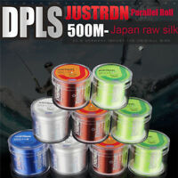 500M Nylon Daiwa Fishing Line Super Strong Durable Monofilament Lake Sea Lines